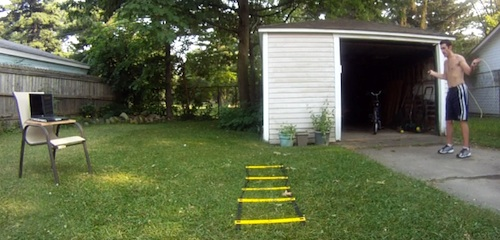 How Much Space Is Needed For The Insanity Asylum Workout